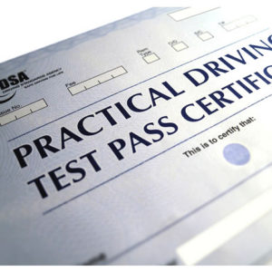 Driving test in Derby